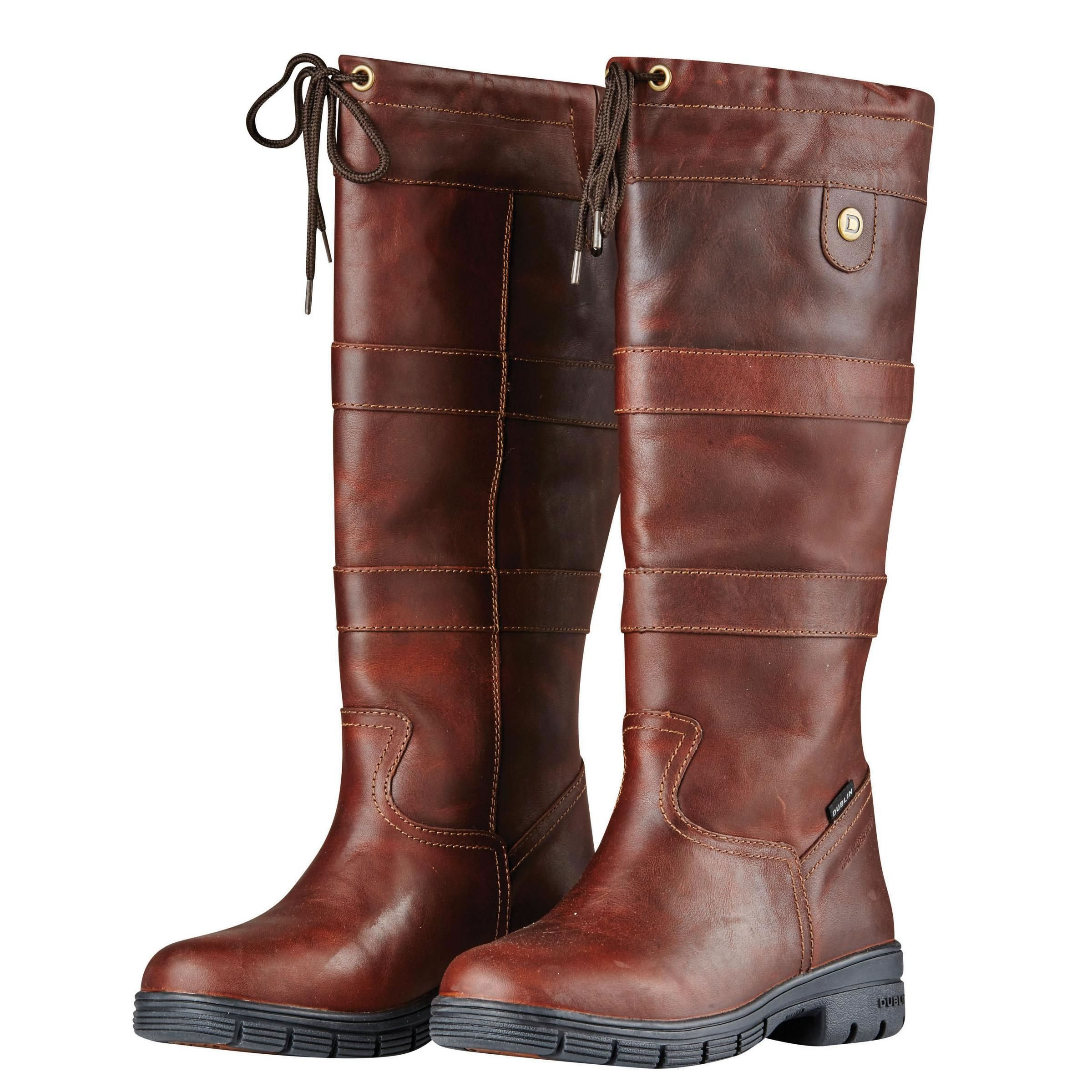 fd7157339b5f Dublin River Grain Boots - Red BrownFrom £169.99 (£141.66 +VAT)